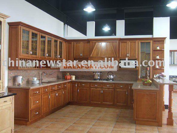 la instalación de gabinetes de cocina