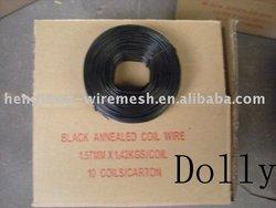 black annealed tie wire/bag ties/black annealed wire