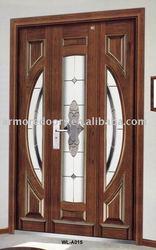 steel wooden armored main door