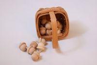 toy--Wooden Acorns