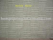 Hemp jacquard weave home fabrics