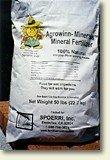 Organic Fertilizer - Agrowinn Minerals, 5 lbs.