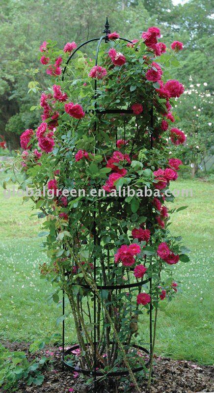 Обелиски для роз своими руками
