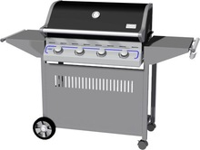gas burners: PATIO ENTERTAINER 4 CLASSIC Gas BBQs