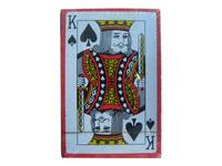spade K poker