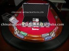 11.5g laser sticker poker chip set