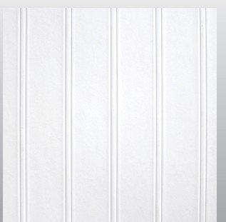 StructoDecor Beaded FRP Cotton White (1130) Wall Panels