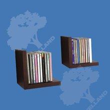 Cascade media shelf pair