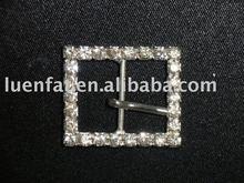 square shape rhinestone garment buckle
