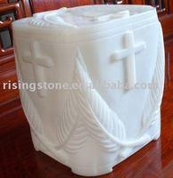 White Marble Urns ( Stone Urns , Granite Urns , Funeral Urns )