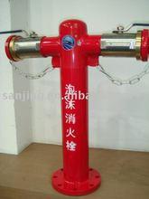 foam fire hydrant, fire fighting equipment, landing fire hydrant
