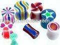 KörperPiercing/UV AcrylBarbell/Zunge-Ring