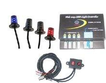 Vehicle Lighting- LED 4 Head Kit