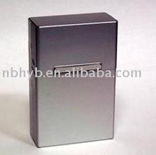 automatic aluminum cigarette case