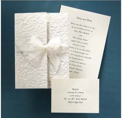 Wedding Supplies handmade wedding invitations Spring