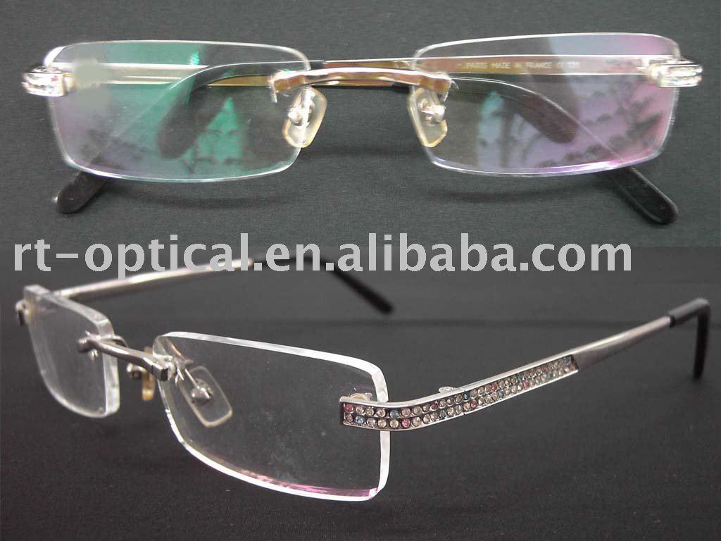 Zenni Optical Safety Glasses : PLASTIC RIMLESS EYE GLASSES - EYEGLASSES
