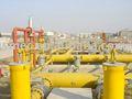 Gas reducción de estación de Gas de medición estación, City Gate de Gas de regulación de estación