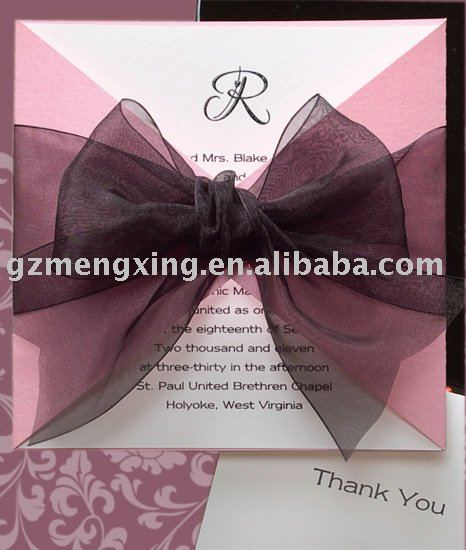 wedding invitation decorations