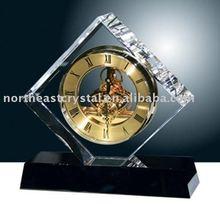 timepiece, Crystal Clock, crystal decoration, crystal