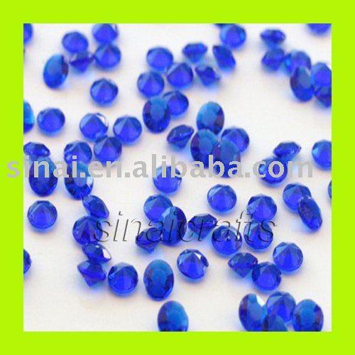 Acrylic Diamond Confetti Wedding Party Table Decor