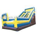 Inflável slides/ castelos, grande terra, ar brinquedos, eletrodomésticos jumpbed, slide