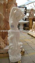 White Jade Marble Statue