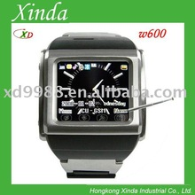 W600 watch mobile phone with camera and popular design