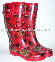 Womens rubber rain boot