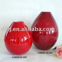 Murano Glass Vase in Red