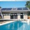 unpressurized سخان المياه بالطاقة الشمسية