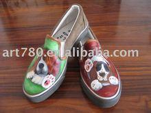 Zapatos pintados a mano ( mujeres )