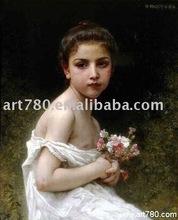Painting artist( Monet oil painting)