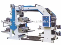 Four Color Flexible Letter Printing Machine