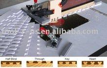rápida conjunta de precisión del sistema de carpintería de cola de milano para la plantilla