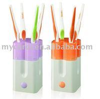 UV toothbrush holder sterilizer sanitizer disinfector