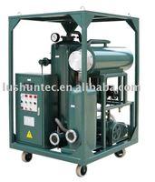 ZL vacuum lubricating oil purification machine/ hydraulic oil purifier