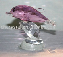 crystal dolphin,crystal animal