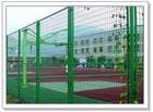 Playground metal fencing