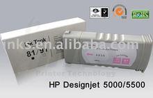 UV Pigmented Ink Cartridge for HP Design jet 5500