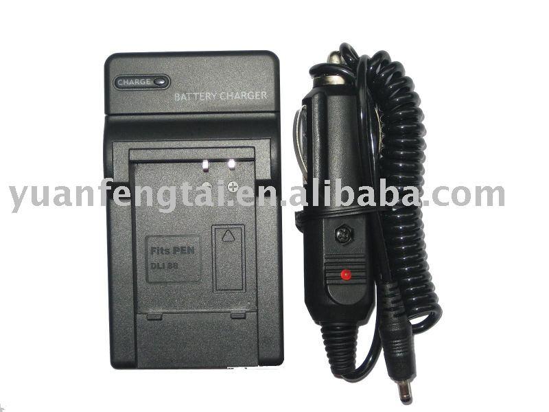 Digital Camera Battery Charger for PENTAX D-LI88