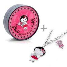 Hello Kitty / fashion jewerly/ alloy pendant /enemal pendant /diamond accessory