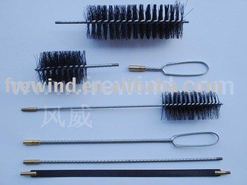 boiler cleaning brush kit