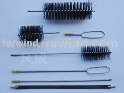 boiler cleaning brush kit