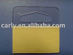 Adhesive Plastic Hang tab