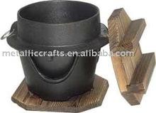 cast iron Japanese pot