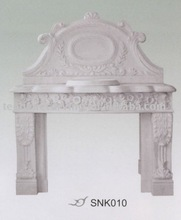 stone carved basin