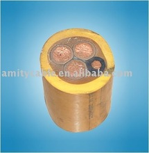 rubber insulated mining cable