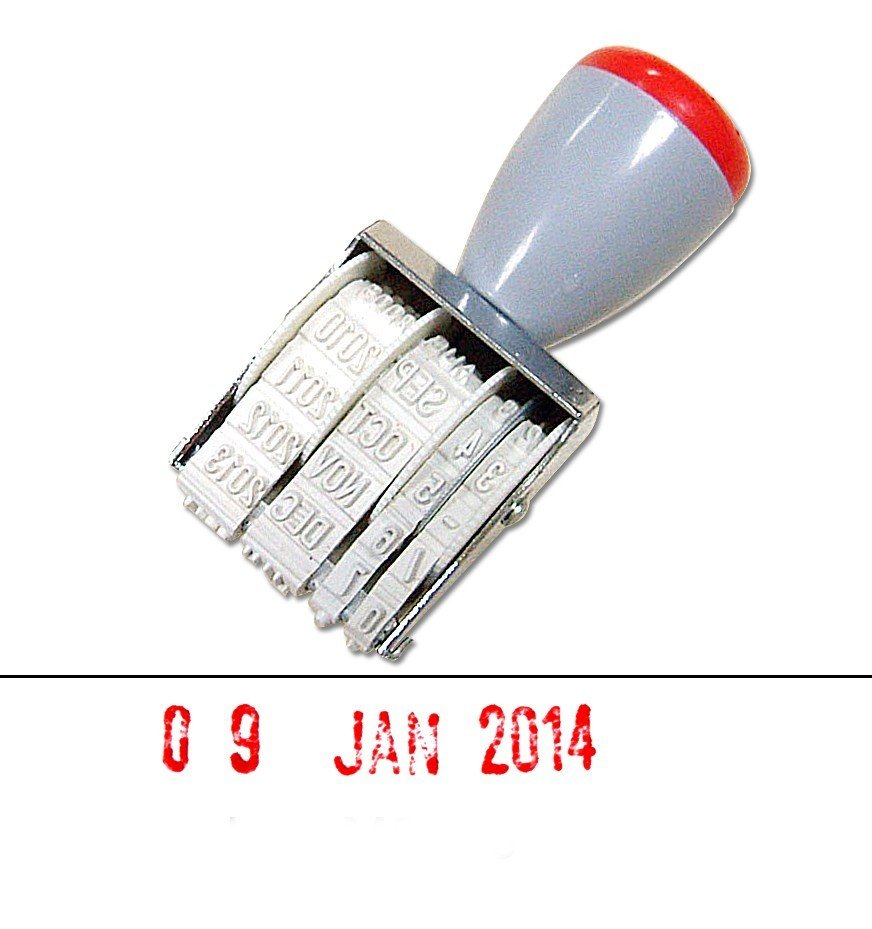 Personalize, Preview and Buy Custom Date Stamps Online!