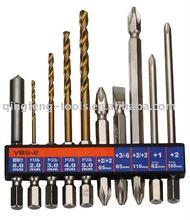 Multi screwdriver bit set