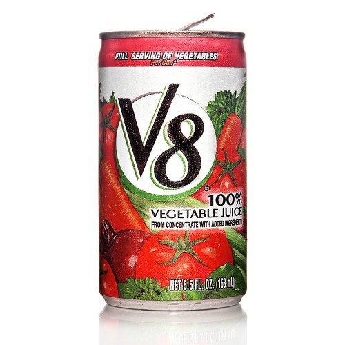 V8 vegetable juice